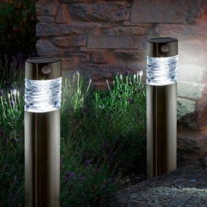 Favoriete Buitenlamp met sensor | Automatische LED tuinverlichting VH83